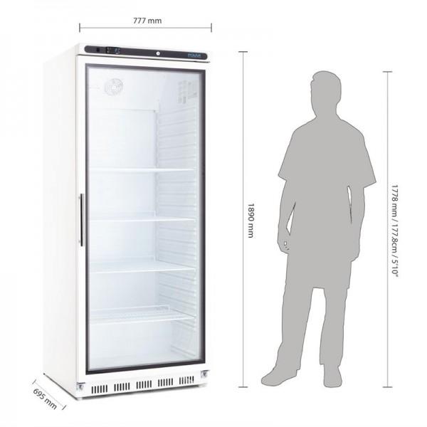 Polar Serie C Display Kühlschrank 600L