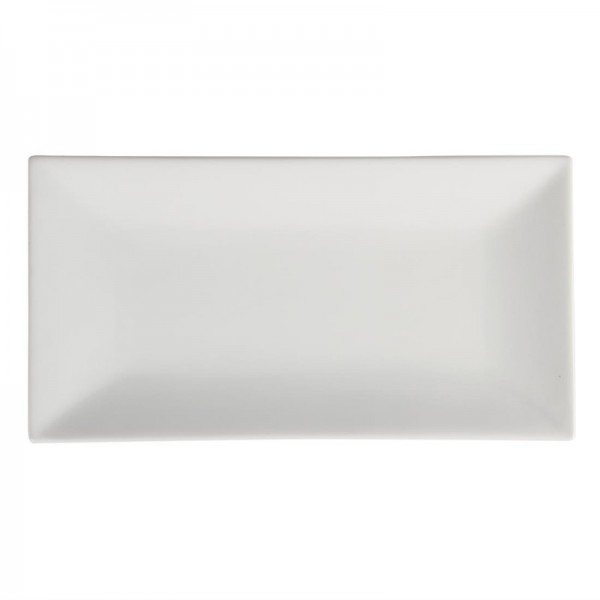 Olympia Whiteware rechteckiger Servierteller 38 x 20cm