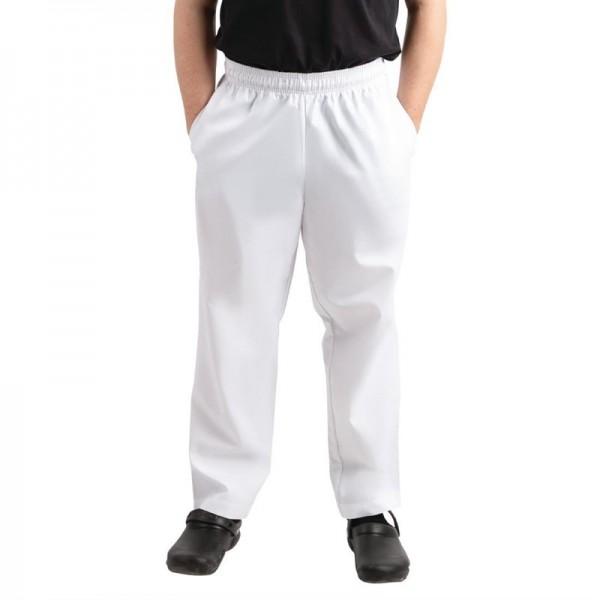 Whites Unisex Kochhose Easyfit weiß XL
